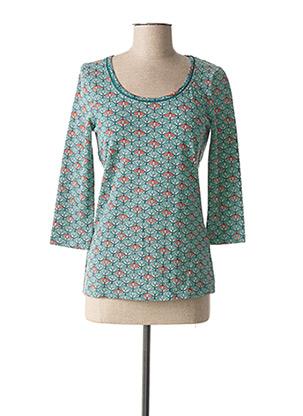 T-shirt manches longues bleu LA FIANCEE DU MEKONG pour femme