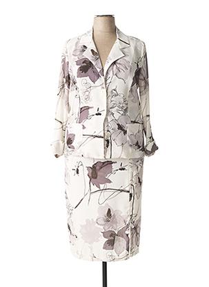 Veste/jupe gris MARTINE LETOURNEUR pour femme