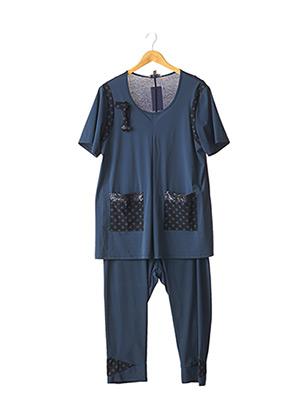 Top/pantalon bleu MERI & ESCA pour femme