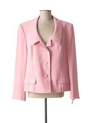 Veste chic / Blazer rose RIO pour femme