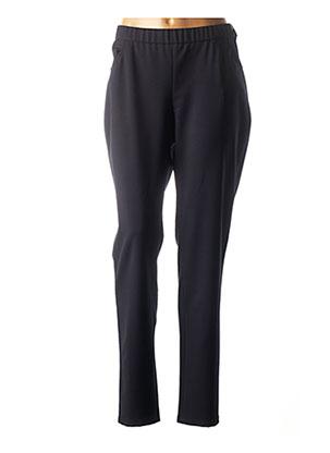 Pantalon casual bleu GUY DUBOUIS pour femme