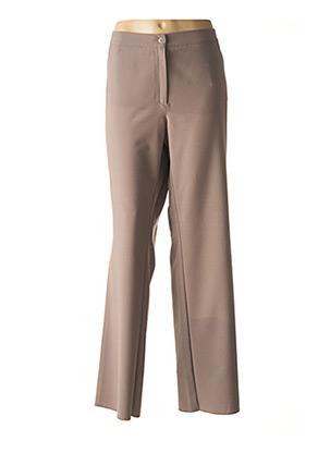 Pantalon chic gris CHRISTIAN MARRY pour femme