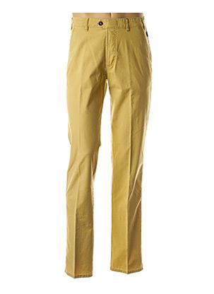 Pantalon casual jaune BRÜHL pour homme
