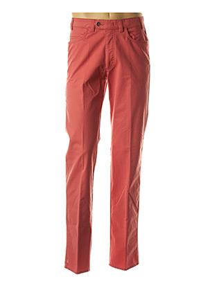 Pantalon casual rouge BRÜHL pour homme
