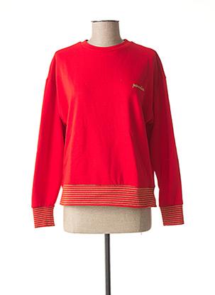 Sweat-shirt rouge VERO MODA pour femme