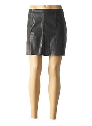 Jupe courte noir VERO MODA pour femme