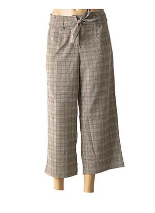 Pantalon 7/8 marron VERO MODA pour femme