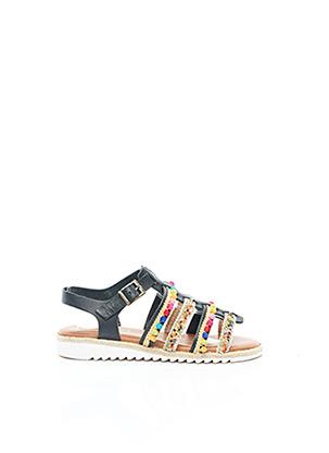 Sandales/Nu pieds noir BERTUCHI pour fille