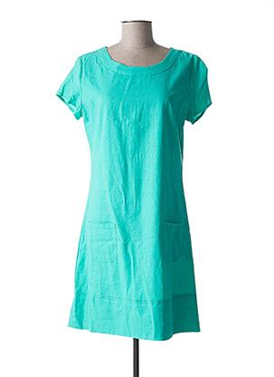 Robe mi-longue vert ESPRIT DE LA MER pour femme