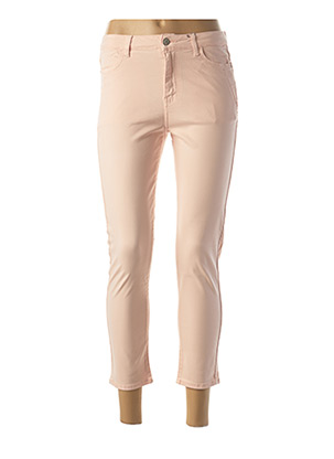 Jeans coupe slim rose KANOPE pour femme