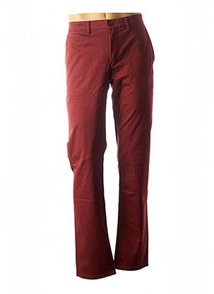 Pantalon casual rouge CAMBRIDGE pour homme