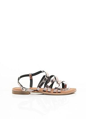 Sandales/Nu pieds gris LES P'TITES BOMBES pour femme