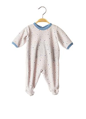 Pyjama blanc PETIT BATEAU pour enfant