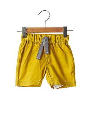 Short jaune PETIT BATEAU pour garçon