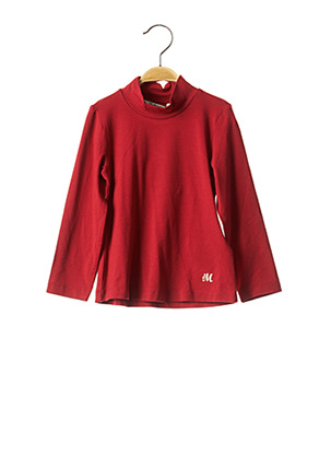 Sous-pull rouge MAYORAL pour fille