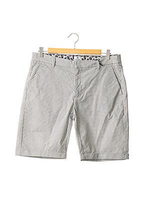Short gris DSTREZZED pour homme