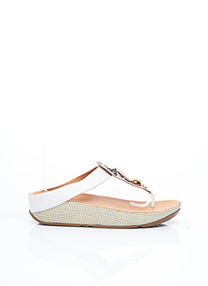 Tongs blanc FITFLOP pour femme