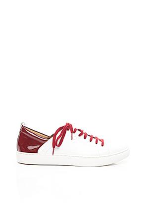 Baskets rouge EMILIE KARSTON pour femme