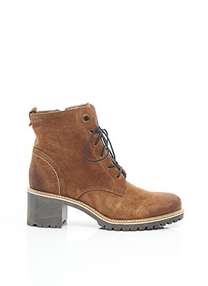 Bottines/Boots marron MKD pour femme