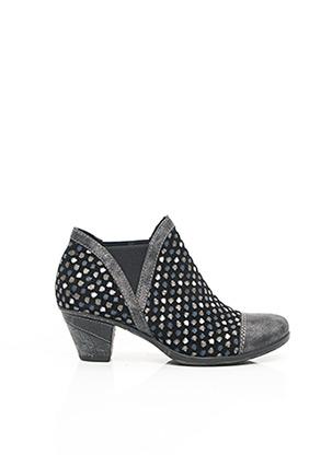 Bottines/Boots noir REMONTE pour femme