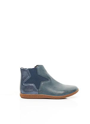 Bottines/Boots bleu KICKERS pour fille