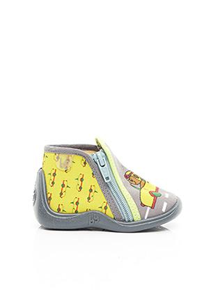 Chaussons/Pantoufles jaune BABYBOTTE pour enfant