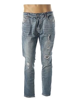 Jeans coupe slim bleu PROJECT X pour homme