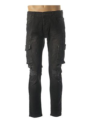 Jeans coupe slim noir PROJECT X pour homme