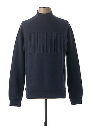 Sweat-shirt bleu SOULLAND pour homme