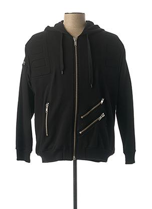 Veste casual noir MOSCHINO pour homme