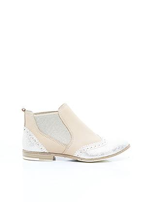 Bottines/Boots beige MARCO TOZZI pour femme