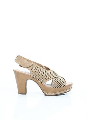 Sandales/Nu pieds beige PEDRO MIRALLES pour femme