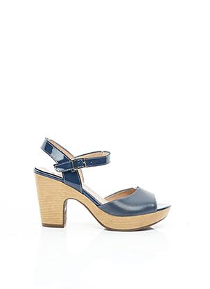 Sandales/Nu pieds bleu WONDERS pour femme