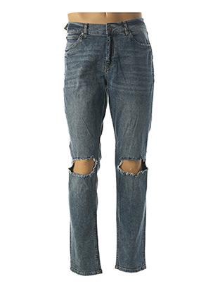 Jeans skinny bleu CHEAP MONDAY pour homme