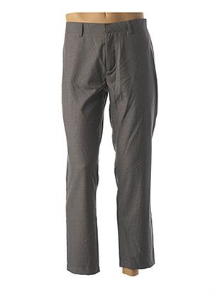 Pantalon casual gris WEMOTO pour homme