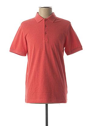 Polo manches courtes rouge FARAH pour homme