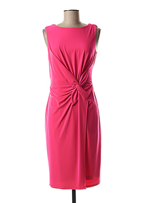 Robe mi-longue rose JOSEPH RIBKOFF pour femme