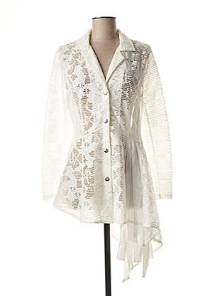 Veste chic / Blazer blanc LESLIE pour femme