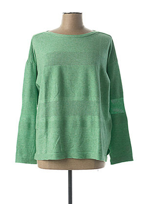 Pull col bateau vert BETTY BARCLAY pour femme