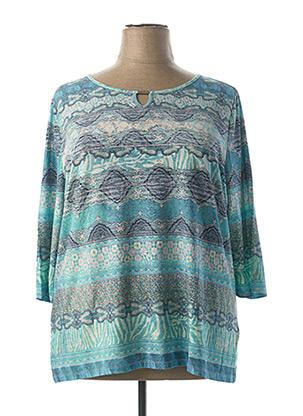 T-shirt manches longues bleu BETTY BARCLAY pour femme