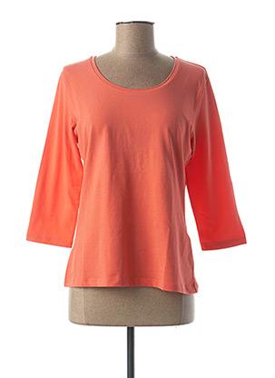 T-shirt manches longues orange BETTY BARCLAY pour femme