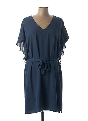 Robe mi-longue bleu KOCCA pour femme