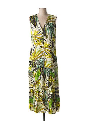 Robe longue vert BETTY BARCLAY pour femme