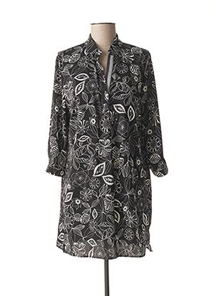 Robe mi-longue noir BETTY BARCLAY pour femme