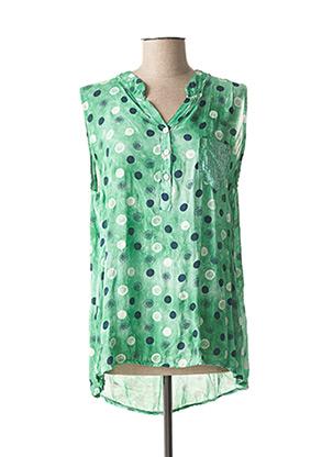 Body vert QUATTRO pour femme