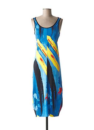 Robe longue bleu MALOKA pour femme