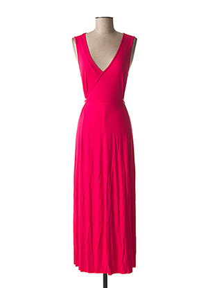 Robe longue rose MALOKA pour femme