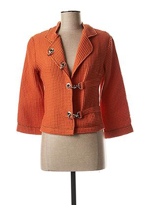 Veste casual orange LO! LES FILLES pour femme