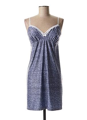 Nuisette/combinette bleu ANTIGEL pour femme