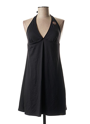Robe pull noir GRAIN DE SABLE pour femme
